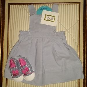 Other - Blue baby girl dress sz. 12M